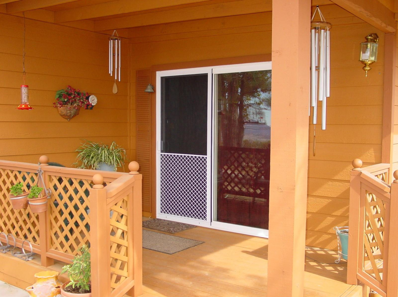 Heavy Duty Sliding Screen Door Sliding Patio Screen Door