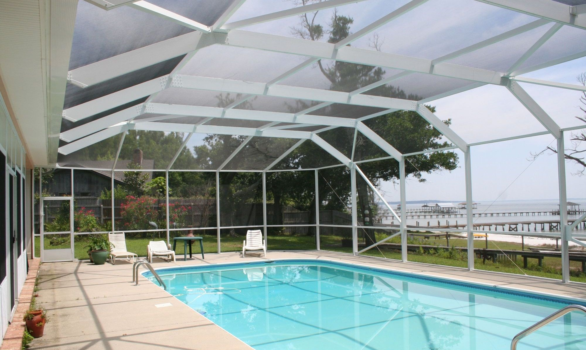 Pool Screen Enclosure Screenmobile Com