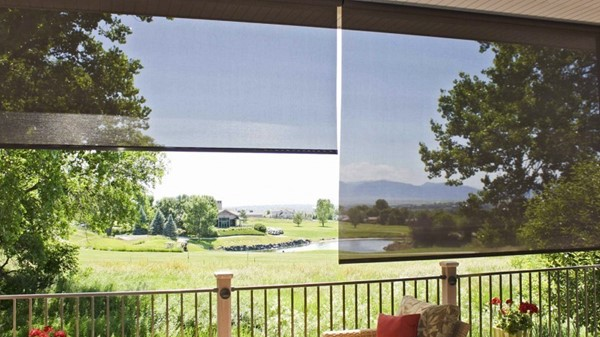 Oasis 2650 Patio Sun Shades provide Daytime Privacy or Protection from Golf Balls?